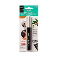 Kiss Quick Cover Gray Touch-Up (краска для волос и бороды) Естественный темно-коричневый