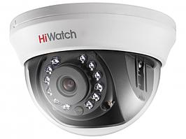 DS-T201 2Мп внутренняя купольная HD-TVI камера с ИК-подсветкой до 20м
