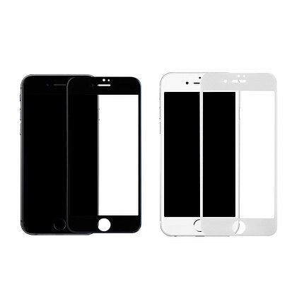 Защитное стекло Rinco 3D iPhone 7 Plus, iPhone 8 Plus, White, фото 2