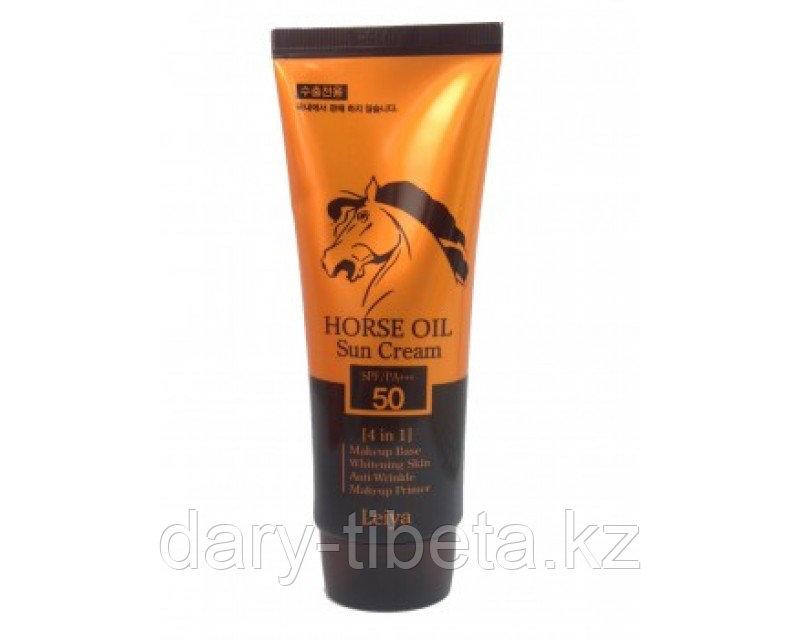 Leiya Horse Oil Sun Cream-Солнцезащитный крем