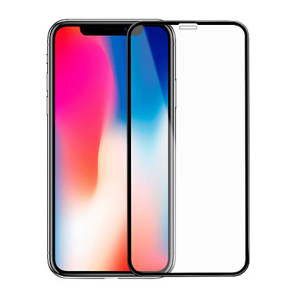 Защитное стекло Rinco 3D iPhone X, iPhone 10, Black, фото 2