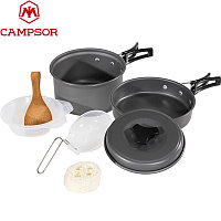 Набор кемпинговой посуды «Campsor» 8 предметов