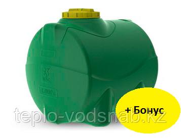 Емкость цилиндрическая горизонтальная 1.000 литров, фото 2