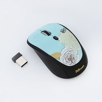 Мышь Trust Yvi (19521) Wireless Mouse - flower