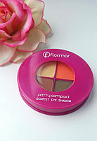 "Тени Flormar Pretty Compact Quartet Eye Shadow, 041 ""Autumn Leaves"", фото 1"