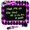 Доска для рисования Monster High Light-Up Message Board Magnetic Mount