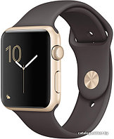 Apple Watch 42 mm Apple Watch Series 2  Aluminium Case Gold Cocoa Sport Band