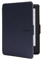 Кожаный чехол для Amazon Kindle 8 (темно-синий)