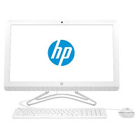 "HP All-in-One PC  22"" ( white ) AMD A6-7310 X0W93EA"