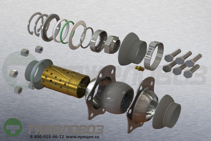 Ремкомплект тормозного вала 09.801.02.13.0/0980102130/