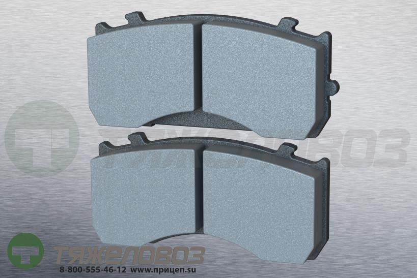 Колодки дисковые BPW,MB ATEGO,ГАЗ-33104 09.801.07.07.0 (173.6x84x27)