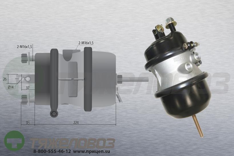 Энергоаккумулятор тип 20\24 ROR/МERITOR (дисковый тормоз) 41231055