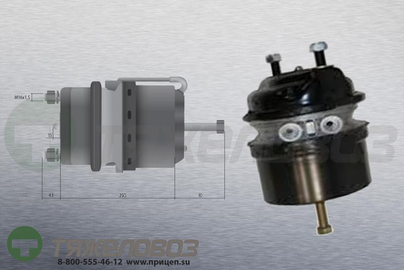 Энергоаккумулятор тип 24/24 SCANIA (дисковый тормоз) 1405000373