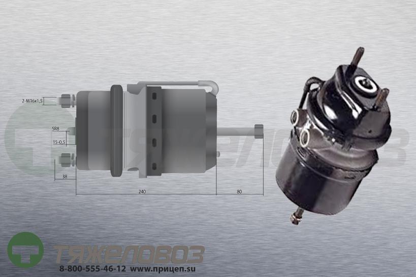 Энергоаккумулятор тип 20\24 МAN (дисковый тормоз) 81.50410.6722