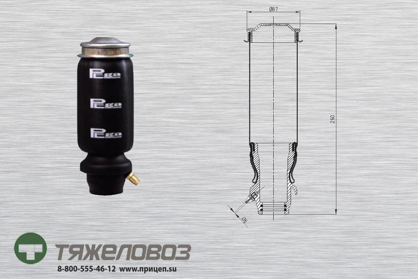 Амортизатор кабины Mercedes P20.2101.F