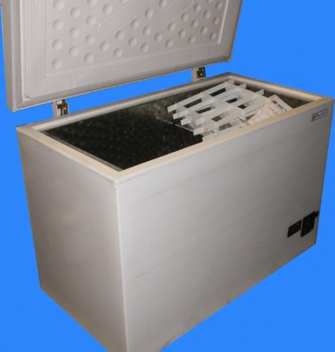 Камера морозильная КМ-0,27-1 предназначенна для испытаний бетона вторым базовым (вторым ускоренным) методом