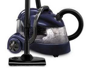 Пылесос (пылесос с водяным фильтром) с аквафильтром для сухой уборки