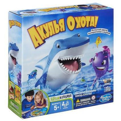 "Игра ""Акулья Охота"", Hasbro"