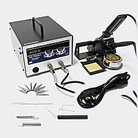 AOYUE INT702A+ Паяльная антистатическая станция с паяльником и термопинцетом , фото 1