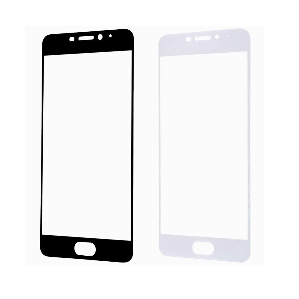 Защитное стекло A-Case Huawei P10 Lite 2017, Окантовка White