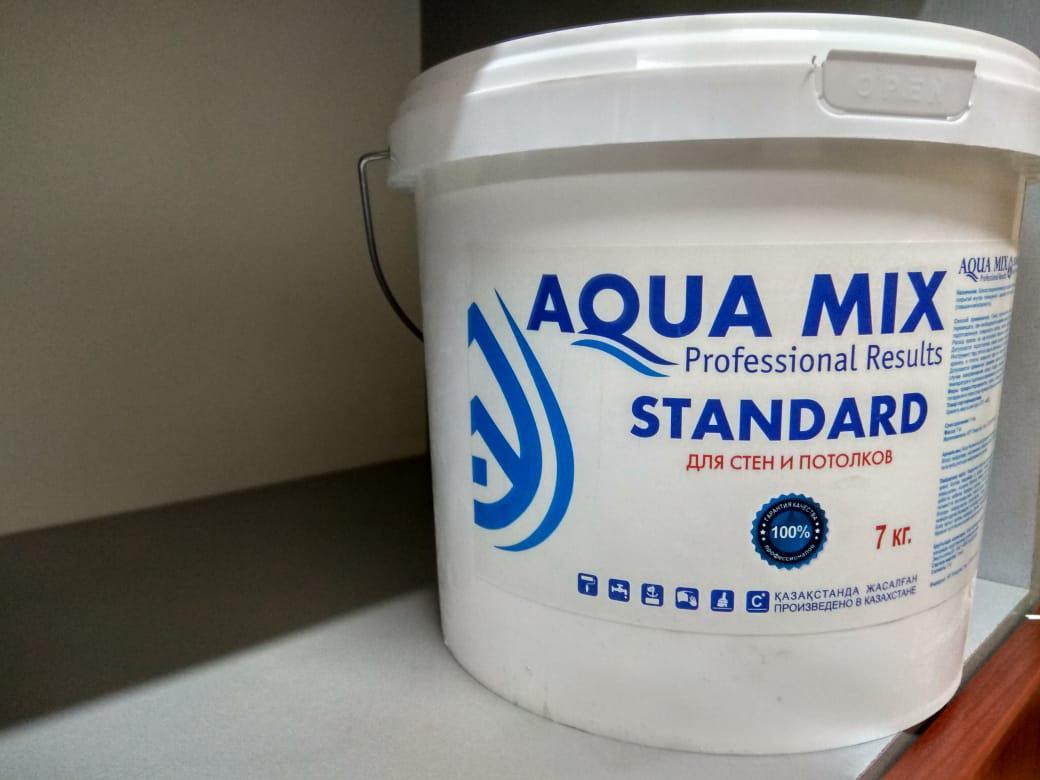 Водоэмульсия Aqua MIX Standard (для стен и потолков)