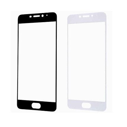 Защитное стекло A-Case Huawei P9 Lite Mini, Окантовка White, фото 2