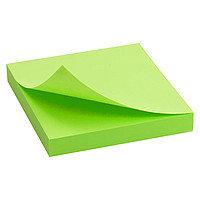 """Клейкие листки DELI """"Neon"""" 76х76 мм, неоново-зеленые, 100 листов"""