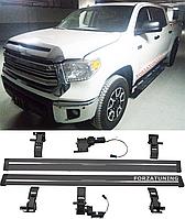 Электрические выдвижные пороги подножки для Toyota Tundra Crew Max 2014+