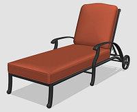 Лежак Verna Lounge из литого алюминия, фото 1