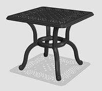 Столик Verna для журналов из литого алюминия, фото 1