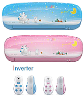 Кондиционер MIDEA KIDS STAR MSKU-09HRDN1-P INVERTER (инсталляция в комплекте)