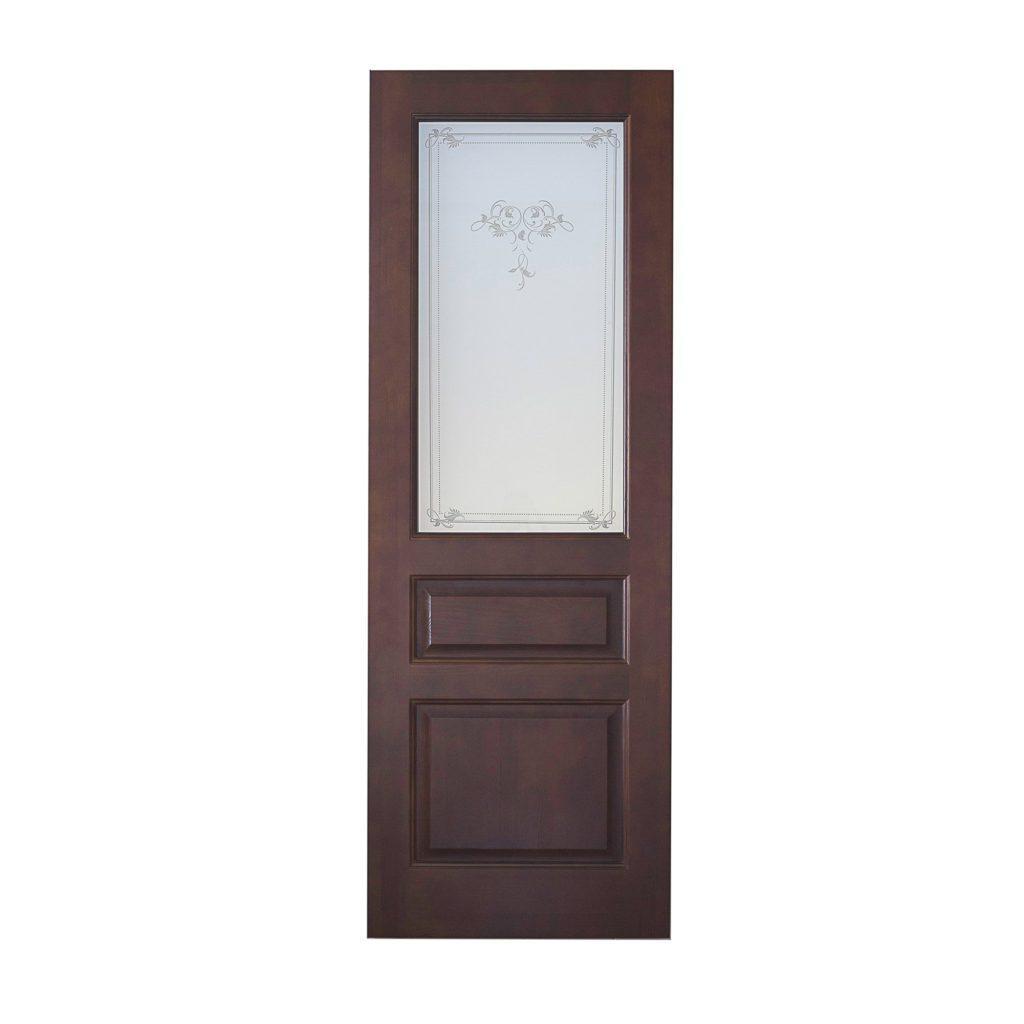 Межкомнатная дверь массив сосна Модель 5 Бруно