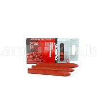 Мелки разметочные восковые красные, 120мм, коробка 6шт. 84818 (002)