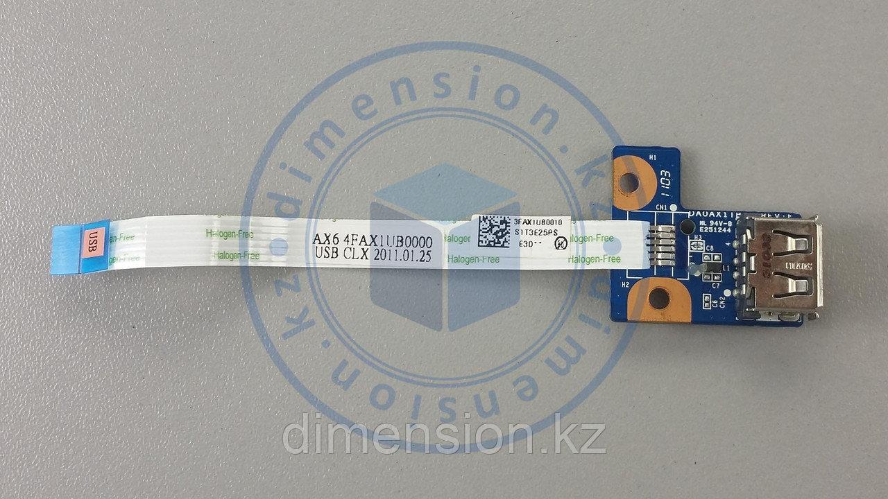 USB 2.0 порт, плата, разъем для COMPAQ Presario CQ56