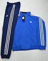 Костюм спортивный мужской Adidas голубой/синий