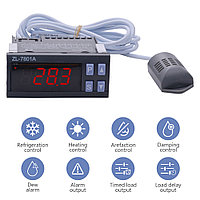ZL-7801A Контроллер температуры и влажности (инкубаторы, сауны, бани и тд.)