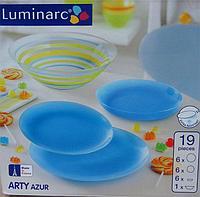 Сервиз столовый Luminarc Arty Azur 19 пр, фото 1