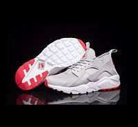 Кроссовки Nike Air Huarache Run Ultra Grey Red White, фото 1