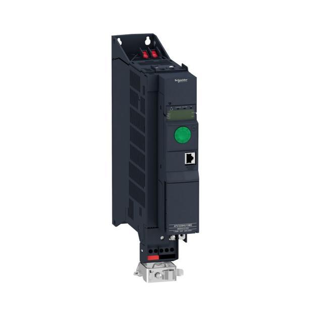Однофазное напряжение питания: 200 - 240 В, 50/60 Гц, со встроенным фильтром ЭМС