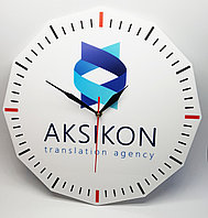 Часы настенные с логотипом, фото 1