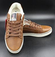 04894aa6876a Кеды Vans светло коричневые ( Light Brown) кожа