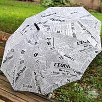 Зонт-трость «Газета» , фото 1