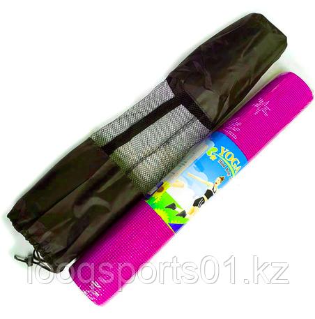 Коврик для йоги (йога мат,каремат) и фитнеса 173х61х10см (с сумкой)