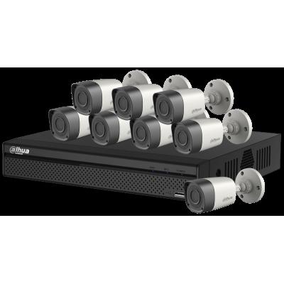 Комплект HD Видеонаблюдения Dahua на 4 камеры 2 Mп