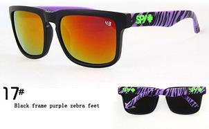 Солнцезащитные очки SPY+  сиреневая зебра , фото 2