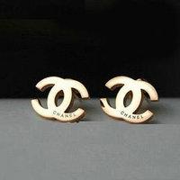 Серьги Chanel 1