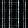 Мозаика стекло черная