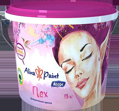 Декоративная краска Flex  13 кг