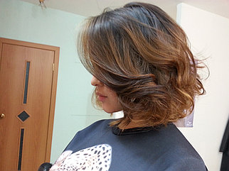 Окрашивание волос Wella  Illumina Color