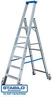 Передвижная лестница-стремянка 5 ступ. KRAUSE STABILO